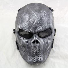 Outdoor Wargame Tactical Mask Schwarz Gott Volle Gesicht Airsoft Paintball CS…