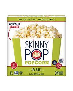 boxed microwave popcorn | skinny pop