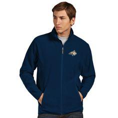 Montana State Bobcats Antigua Ice Full-Zip Jacket - Navy