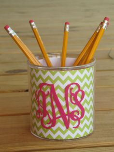 Personalized Pen/Pencil Cup