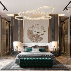 M A S T E R on Behance Modern Luxury Bedroom, Master Bedroom Interior, Luxury Bedroom Design, Bedroom Furniture Design, Master Bedroom Design, Luxury Interior Design, Luxurious Bedrooms, Bedroom Decor, Bed Headboard Design