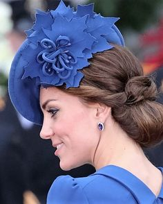 Kate's Lock & Co. hat with maple leaf detail