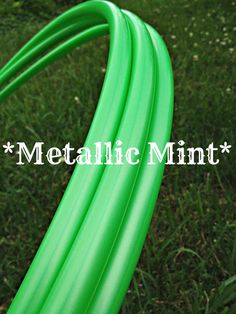 """MINT Metallic Polypro Dance Hoop 5/8"""" or 3/4"""" Collapsible"""