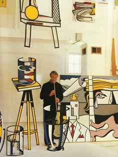 Exposition Roy Lichtenstein Centre Pompidou Paris                                                                                                                                                                                 More