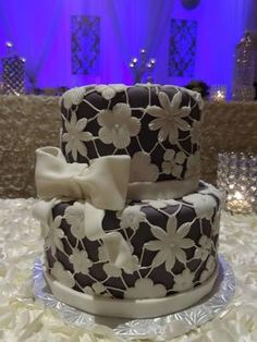 Lace cake by Frost Dessert Shoppe, Baden ON