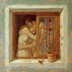 """Alex Alemany is a Spanish artist who is known for his surrealistic paintings which are often categorized as """"magical realism"""". Henri Matisse, Henri Rousseau, Fabian Perez, Jack Vettriano, Alex Colville, Galleries In London, Realistic Paintings, Magical Paintings, Spanish Artists"""