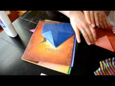 ▶ How to make a Waldorf Paper Window Star - YouTube