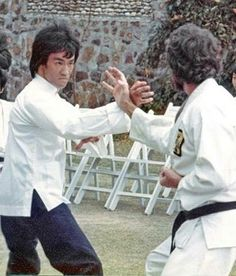 """""""Bruce Lee And Bob Wall Fight Scene From Enter The Dragon !"""":"""