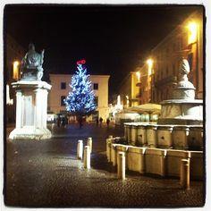 Christmas in Piazza Cavour, Rimini - Instagram by @COMUNE di Rimini