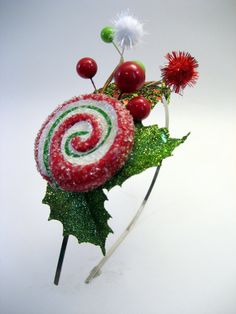 Not just a bit of mistletoe, but fun, whimsical, and sweet as well! Be prepared to collect some kisses and ward off the Grinch this holiday season! With