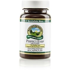 Perfect Eyes® (60 caps)Supports the circulatory system. Supports the macular region of the eye and total eye health. Fights free radical damage. Provides 6 mg of lutein per serving. www.msspawellness.mynsp.com