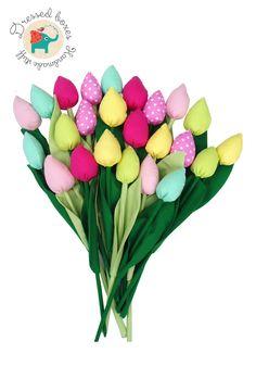 Tulips Fabric
