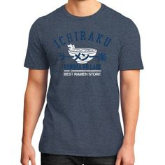 Ichiraku ramen District T-Shirt (on man)