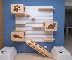 NOTE: CatsWalls are SOLD OUT, but Now PRE-ORDERING for August Delivery CatsWall is a modular aluminum wall hanging system. The Modular CatsWall system includes everything you need to assemble at home