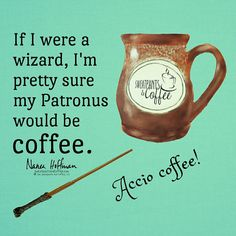 Coffee is magic!