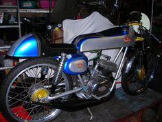 FB Mondial, racing moped