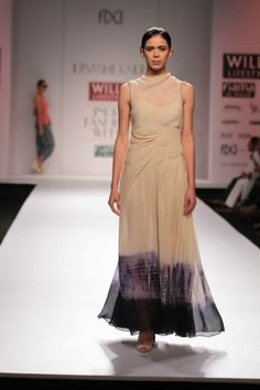 Pia Pauro & Urvashi Kaur's Collection at Wills Lifestyle Fashion Week 2014