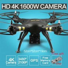 Genuine Syma X5HC-1 2.4G Camera Drone Quadcopter Helicopter Plane SD Card Play