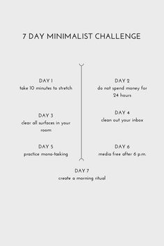 seven day minimalist challenge – Jessica Vazquez – LessBo Ideas – Health Life Bedroom Minimalist, Minimalist Living, Minimalist Quotes, How To Be Minimalist, Minimalist Closet, Konmari, Boho Lifestyle, Vie Simple, Minimalist Lifestyle