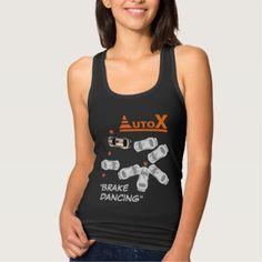 AUTOX-White Tank Top - white gifts elegant diy gift ideas