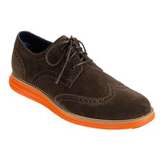Cole Haan LunarGrand Wingtip - www.colehaan.com    Trying to decide if I could pull this off.
