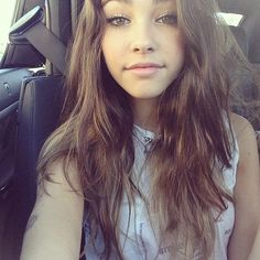 #MadisonBeer My hair and makeup inspiration right now. :-)