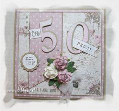 Bursdagskort i rosa