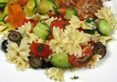 Make and share this Jamie Oliver's Best Pasta Salad recipe from Food.com.