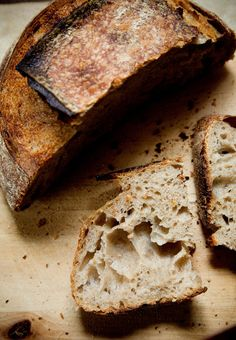 The country bread from Tartine Bakery in San Francisco has reached cult status among passionate bakers, and deservedly so. Based on traditional principles, Mr. Robertson has developed a way to get a tangy, open crumb encased in a blistered, rugged crust in a home kitchen, from a starter you create yourself.  (Photo: Eric Wolfinger)