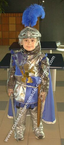 Easy diy knight costume no sew tutorial if i were to ever create coolest homemade knight costume ideas solutioingenieria Choice Image