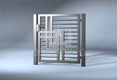 me ~ Sistemo - Polnische Zaune in 2019 Grill Gate Design, Window Grill Design Modern, House Main Gates Design, House Fence Design, Fence Gate Design, Balcony Grill Design, Steel Gate Design, Front Gate Design, Railing Design