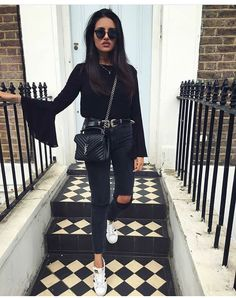 How To Wear Adidas Superstar Outfit Simple Ideas For 2019 Style Outfits, Winter Outfits, Casual Outfits, Cute Outfits, Fashion Outfits, Womens Fashion, Fashion Pics, Luxury Fashion, Fashion Trends