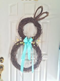 Make a Bunny Wreath for Spring!