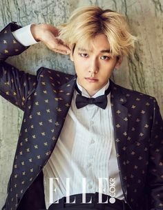 Baek Hyun - Elle Magazine November Issue '15