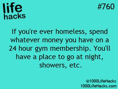 Pretty genius hack - homeless