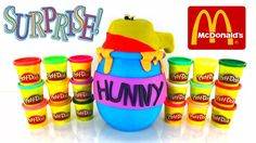 """A Giant Play-Doh Surprise Egg Filled With McDonalds Happy Meal Toys From Winnie The Pooh! If you have any other McDonalds Happy Meal Toys or Giant Play-Doh Surprise Eggs you would like to see us do let us know in the comments below! More Fun Videos! Dreamworks Movie HOME 2015 Play Doh Surprise Egg with FUN """"McDonald's Happy Meal Toys"""" https://www.youtube.com/watch?v=6-09nI2mnoI """"GIANT PLAY DOH SURPRISE EGG"""" 2015 McDONALDS HAPPY MEAL TOYS AND EQUESTRIA GIRLS DOLLS…"""