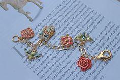 DIY Bracelet : DIY: Enamel Charm Bracelet | Stripes & Sequins