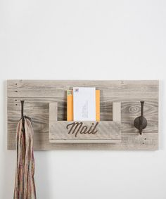Another great find on #zulily! Two-Hook Mail Slot #zulilyfinds