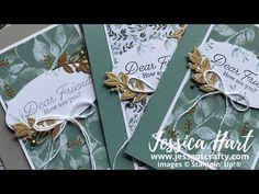 Garden Of Eden, Card Making Tutorials, Thank You Cards, Stamping, The Creator, Videos, Art, Appreciation Cards, Art Background