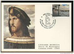 ITALY - CESENA - 500th anniversary appointment DUKE OF ROMAGNA - CESARE BORGIA (1475-1507)
