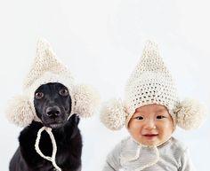 Quand une maman réalise d'adorables portraits de son bébé et du chien qu'elle a recueilli… (image)