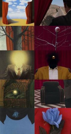 """René Magritte & Twin Peaks: The Return From """"Chaotic Cinema"""" facebook page"""