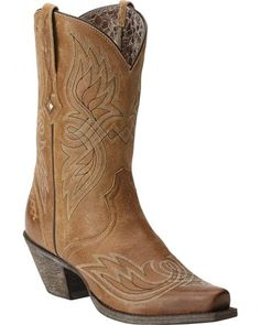 Ariat Women's Tribute Boots - Snip Toe
