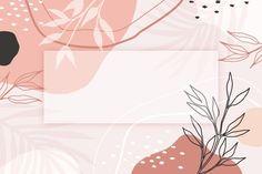 Tropical Background, Pastel Background, Leaf Background, Watercolor Background, Textured Background, Vector Background, Cute Desktop Wallpaper, Macbook Wallpaper, Aesthetic Desktop Wallpaper