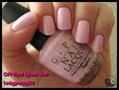 One of my favorite opaque pinks.  OPI Mod About You.  #nails #OPI