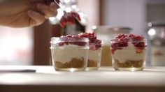 & # & # Cheesecake & # & # without cooking Quebec, No Bake Desserts, Dessert Recipes, Dessert Pots, Cook Smarts, Mason Jar Meals, Healthy Deserts, Healthy Food, Cold Meals