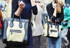 If you want to see Celine Luggage Totes, Fashion Week is a good place to look
