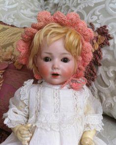 RARE Schoenau Hoffmeister Antique Baby Doll RARE 0X Mold Christening Gown | eBay
