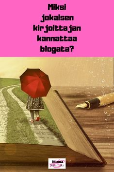 Miksi jokaisen kirjoittajan kannattaa blogata? Blogin kirjoittaminen on hyvää harjoittelua, antaa inspiraatiota ja lisää luovuutta. Lue lisää blogista...  #kirjoittaminen #blogi #bloggaus #bloggaaminen #kirjoittaja #luova #luovakirjoittaminen #sisällöntuotanto