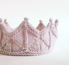 Pale Pink Fairy Crown by laceandcable on Etsy, $36.00